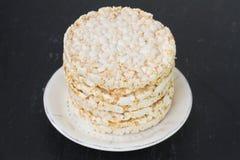 Rice cake in dish Royalty Free Stock Photo
