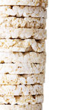 Rice cake pile Royalty Free Stock Images