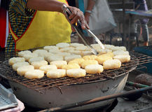 Rice cakes in asia - asia food Royalty Free Stock Photos