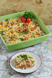 Rice Casserole 01 Stock Images
