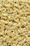 Rice cereal treat texture Royalty Free Stock Photos