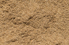 Rice chaff background. Rice chaff is the waste from rice Royalty Free Stock Photo