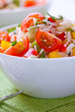 Rice and cherry tomato salad Stock Photography