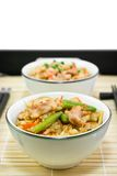 Rice with a chi�ken and vegetables Royalty Free Stock Photo