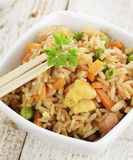 Rice With Chicken And Vegetables Royalty Free Stock Images