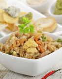 Rice With Chicken And Vegetables Stock Photos