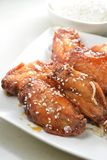 Rice Chicken Wings Royalty Free Stock Photos