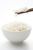 Rice and chopstick Stock Photos