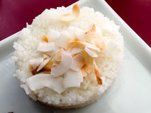 Rice with coconut dish Stock Image