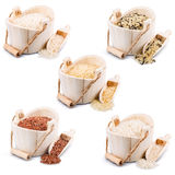 Rice collection Stock Photography