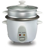 Rice Cooker. On white background Stock Photography