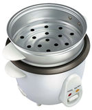 Rice Cooker. On white background stock photo