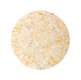 Rice cookie isolated Royalty Free Stock Images