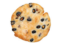 Rice cracker with black soybean Stock Image