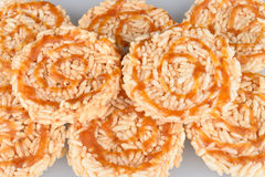 Rice Cracker with Royalty Free Stock Image