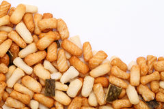 Rice cracker Stock Photo