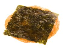 Rice Cracker with Seaweed Stock Photos