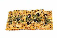 Free Rice CracKer With Cereals Food Grain Stock Photos - 6993443