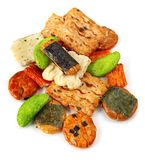Rice Crackers Stock Images