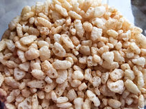 Rice crispies for healthy breakfast Stock Images