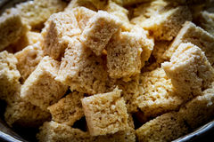 Rice Crispy Treats Royalty Free Stock Images