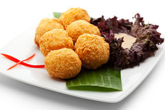 Rice Croquette Royalty Free Stock Photography