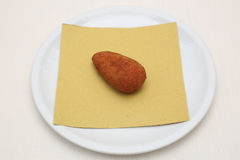 Rice croquette Stock Photos