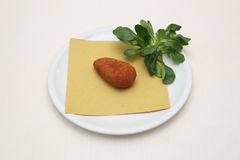 Rice croquette Royalty Free Stock Image