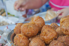 Rice croquettes Royalty Free Stock Photography