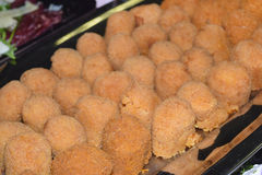 Rice croquettes Stock Photography
