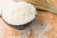 Rice in the cup Stock Photography