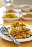 Rice and curry , Thai food Royalty Free Stock Photo