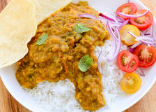 Rice and Dal Royalty Free Stock Photos