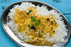 Rice and Dal Royalty Free Stock Image