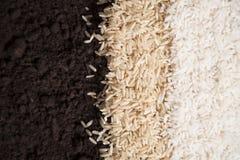 Rice and Dirt Stock Photos