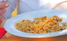 Rice dish Royalty Free Stock Image