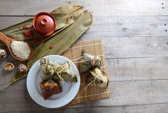 Rice Dumpling. Asian Chinese Rice Dumpling, Zongzi Royalty Free Stock Image