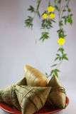 Chinese Zongzi Stock Photo
