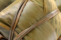 Rice dumpling close up Royalty Free Stock Photo