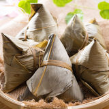 Rice dumpling or zongzi. Royalty Free Stock Image