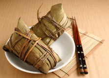 Rice dumplings Stock Images