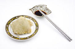 Rice dumplings stock photo