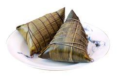 Rice dumplings Stock Images