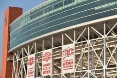 Rice Eccles Stadium in Salt Lake City, Utah. USA stock images