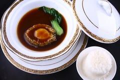 rice för mat för abaloneporslin läcker Royaltyfri Foto