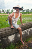 Rice farmer Royalty Free Stock Photography