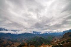 Rice field terraces. Sapa Vietnam Royalty Free Stock Photos