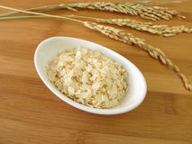 Rice flakes Stock Image