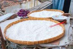 Rice flour Stock Images