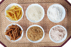 Rice, Flour And Pasta Stock Images